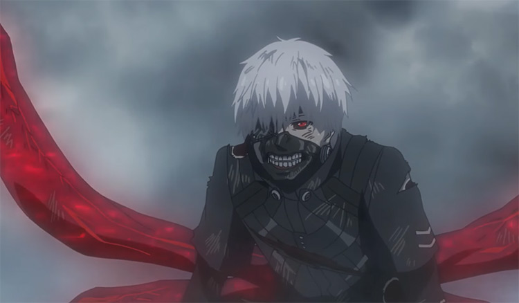 Ken Kaneki in Tokyo Ghoul screenshot