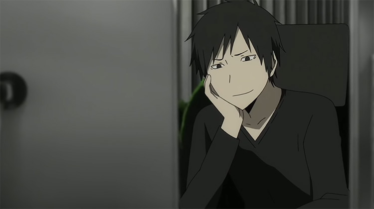 Izaya Orihara in Durarara! anime