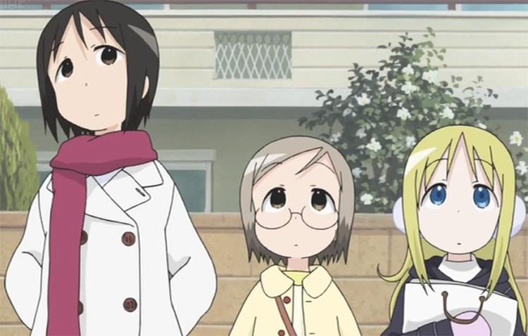 Nobue Itou, Matsuri Sakuragi, and Ana Coppola in Ichigo Mashimaro