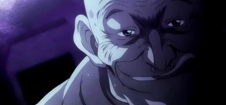 Gisuke Sasaki dark shadowy anime screenshot
