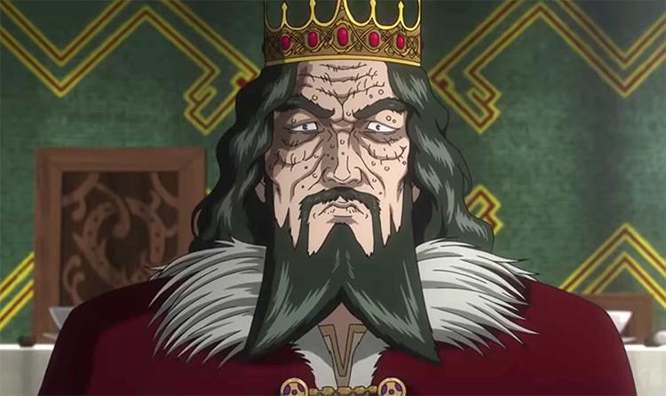 Sweyn Forkbeard in Vinland Saga anime