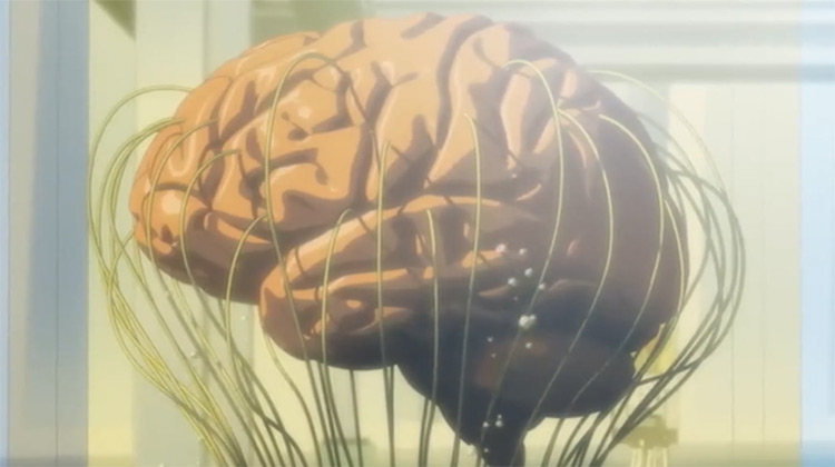 The Sybil System brain form in Psycho-Pass anime