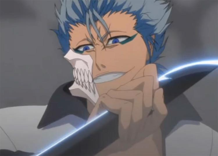 Grimmjow battle Bleach anime
