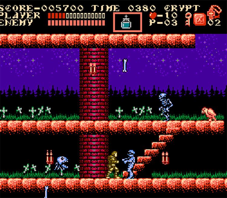 Castlevania: The Holy Relics NES Game screenshot