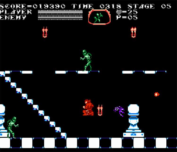 Castlevania: Chorus of Mysteries NES screenshot