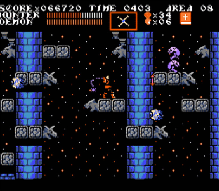 Castlevania: Blood Moon (NES) Game