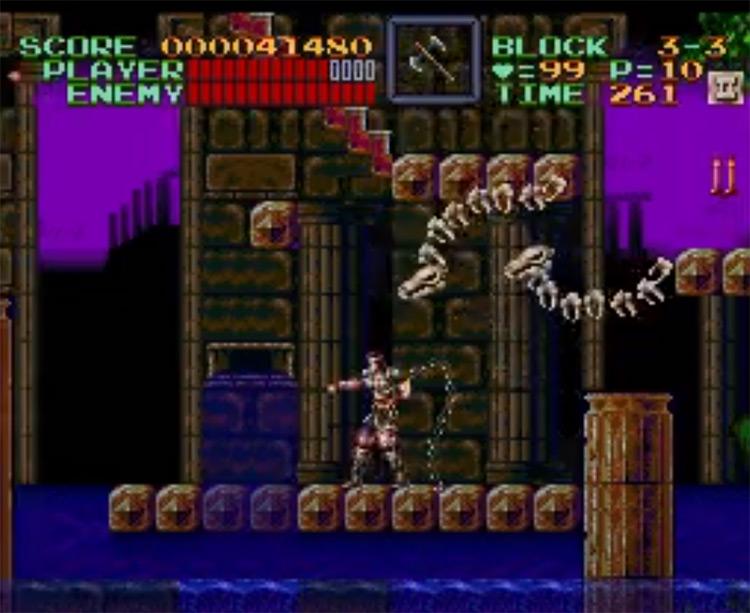 Super Castlevania IV – Other Castle screenshot