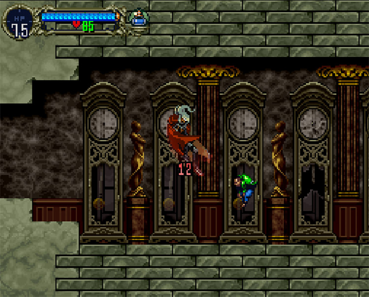 Castlevania: Symphony of the Night – HardType (PSX) Game screenshot