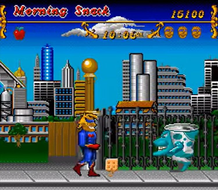 Captain Novolin SNES gameplay screenshot