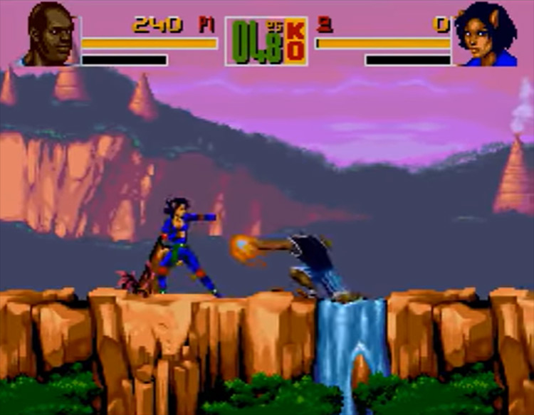 Shaq Fu SNES game screenshot