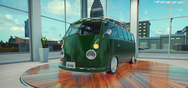 VW 1963 Mod for Car Mechanic Sim