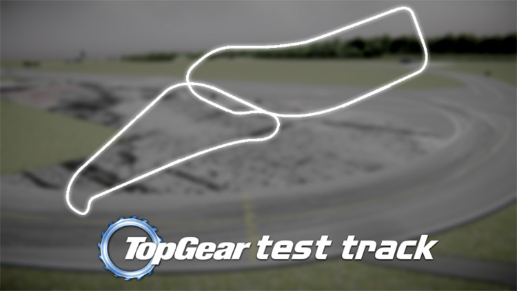 Top Gear Test track Car Mechanic Simulator 2018 mod