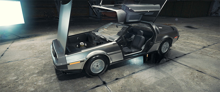 DeLorean DMC-12 mod for Car Mechanic Simulator 2018