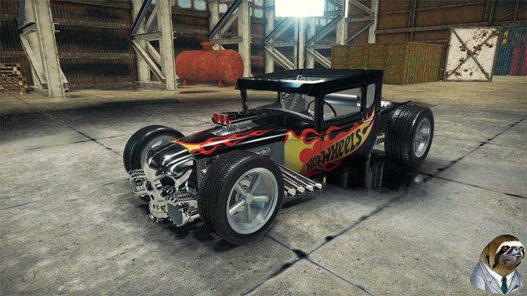Hot Wheels Boneshaker Car Mechanic Simulator 2018 mod