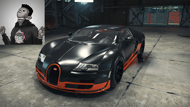 Bugatti Veyron SuperSport Car Mechanic Simulator 2018 mod