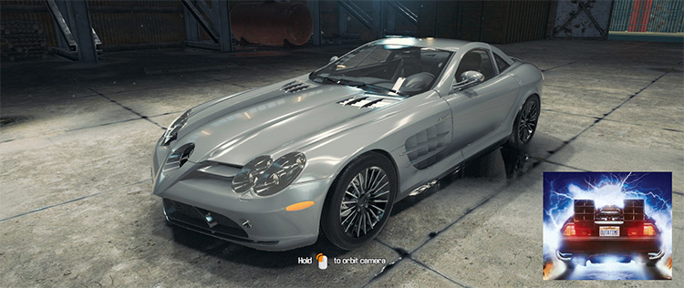 Mercedes-Benz McLaren SLR Car Mechanic Simulator 2018 mod