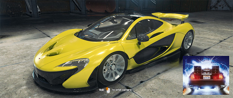 2013 McLaren P1 mod for Car Mechanic Simulator 2018