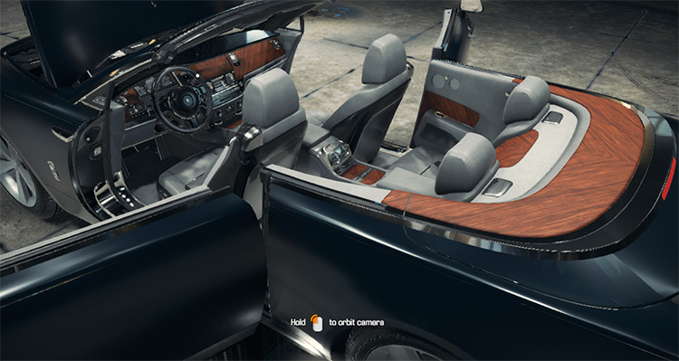 Rolls-Royce Dawn mod for Car Mechanic Simulator 2018