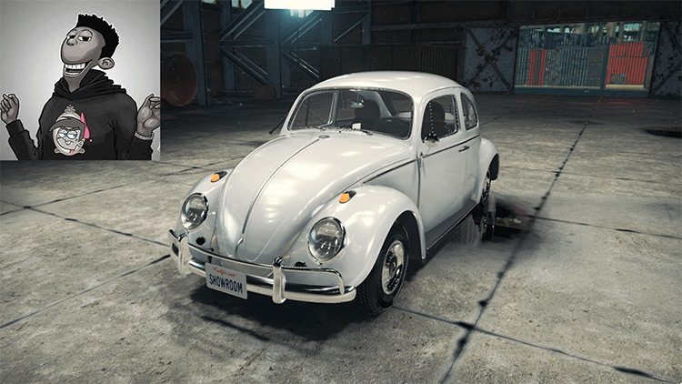 Volkswagen Beetle Car Mechanic Simulator 2018 mod screenshot