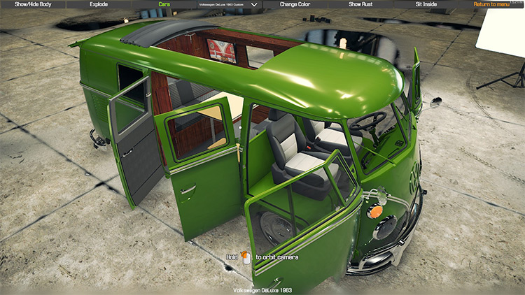 VW 1963 21 window Car Mechanic Simulator 2018 mod