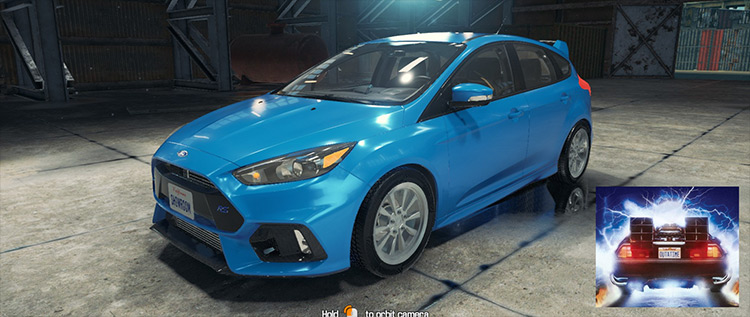 2017 Ford Focus RS mod for Car Mechanic Simulator 2018