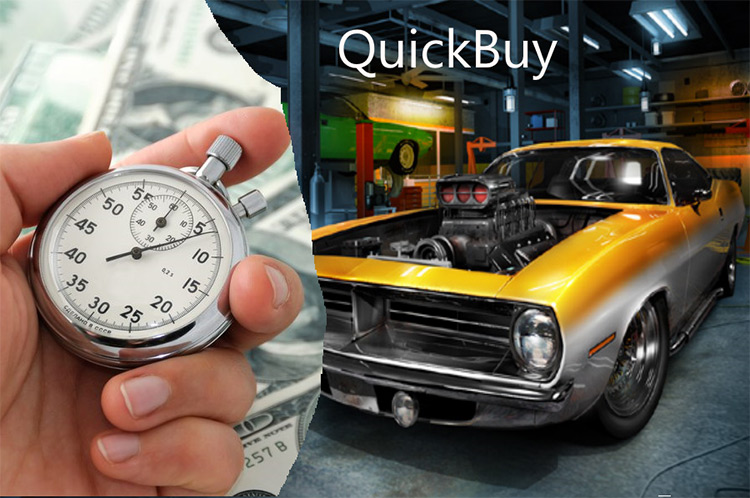 Quick Shop mod for Car Mechanic Simulator 2018