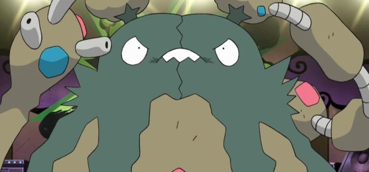 Garbador garbage pile Pokemon - anime preview
