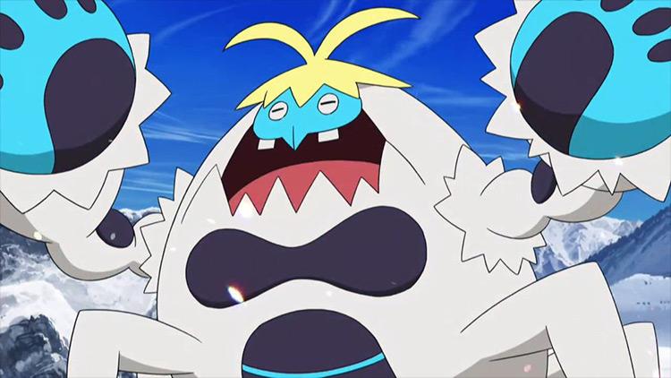Crabominable Pokémon anime