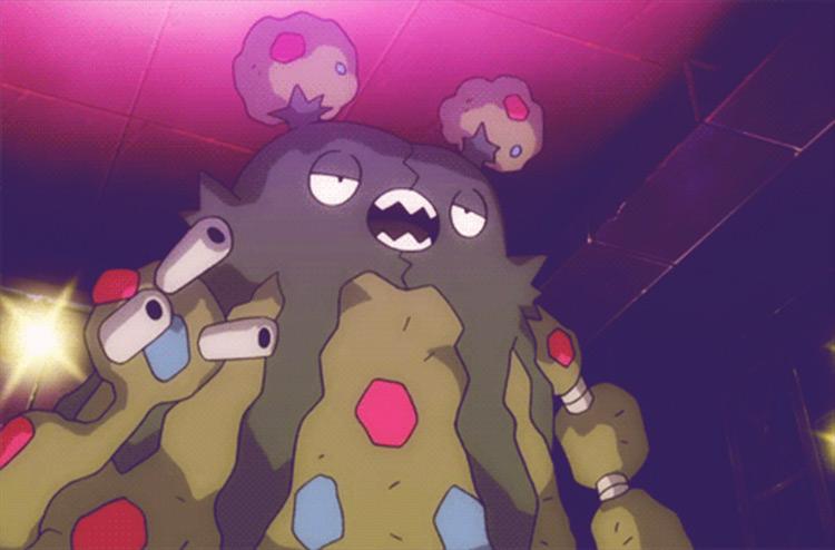 Garbodor from Pokémon anime