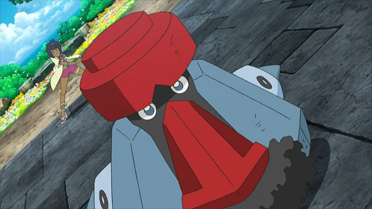 Probopass Pokémon anime screenshot