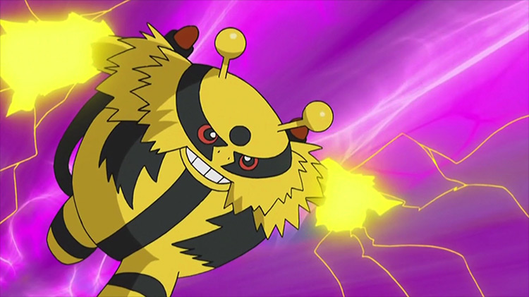 Electivire Pokémon anime screenshot