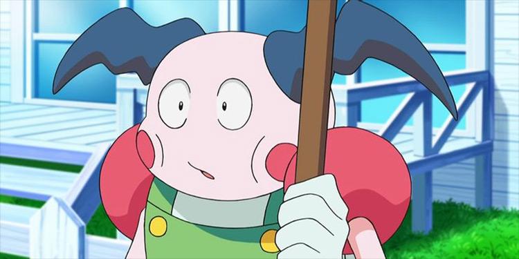 Mr. Mime Pokémon anime screenshot