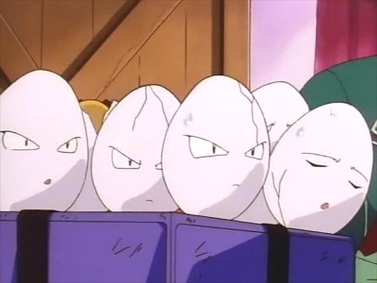 Exeggcute Pokémon anime screenshot