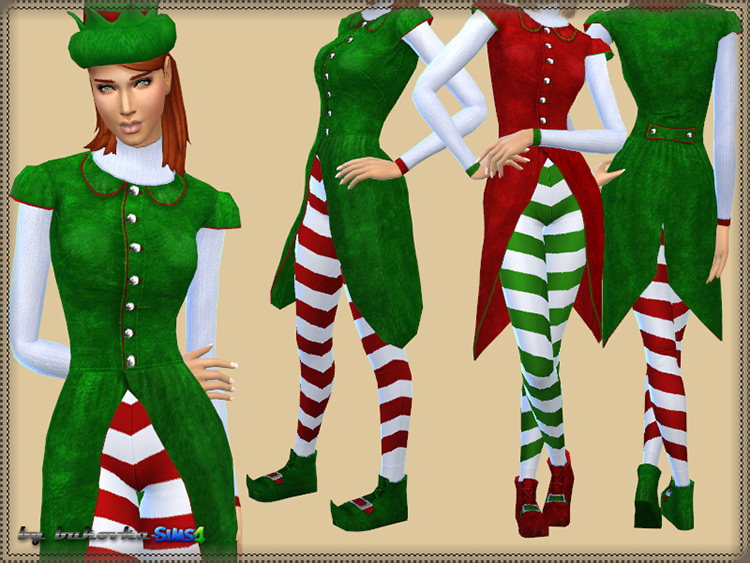 Elf Set Sims 4 CC screenshot