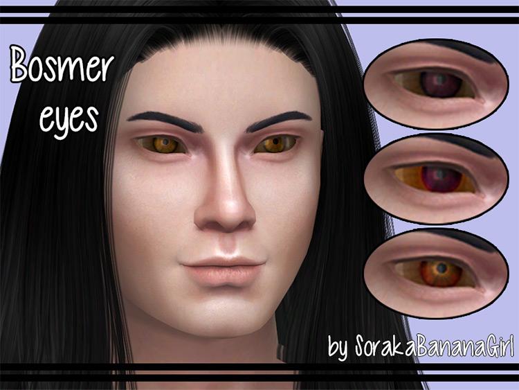 Bosmer Eyes Sims 4 CC