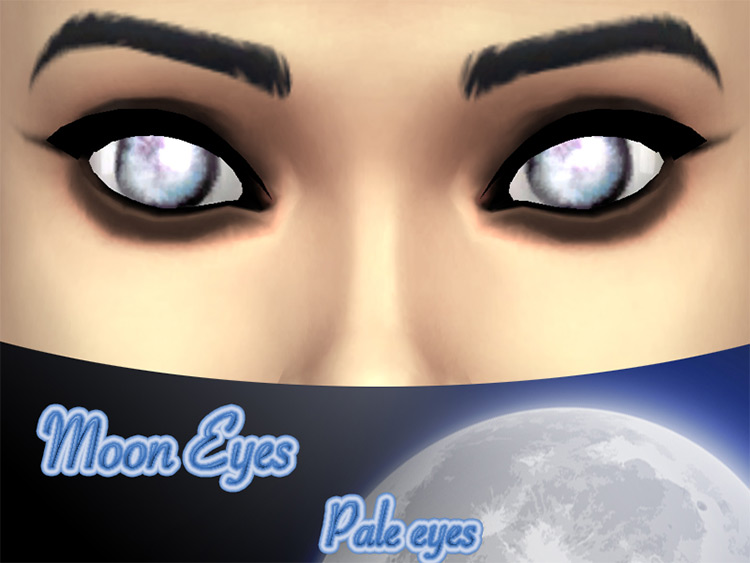 Moon Eyes Sims 4 CC