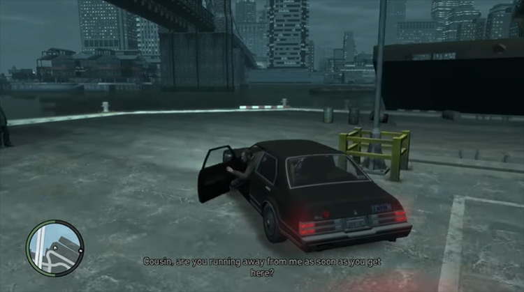The Cousins Bellic GTA 4 mission screenshot