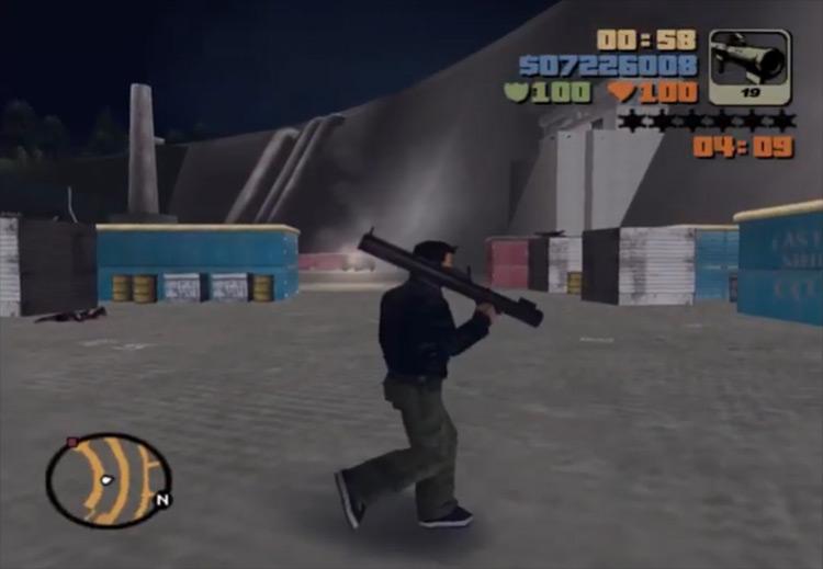 Exchange GTA III mission screenshot