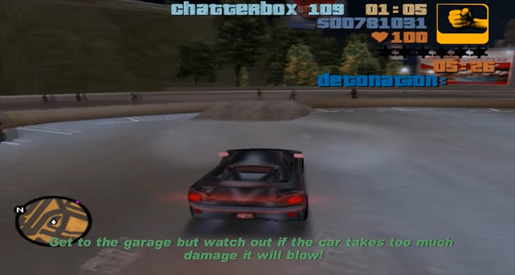 Rigged to Blow GTA III gameplay