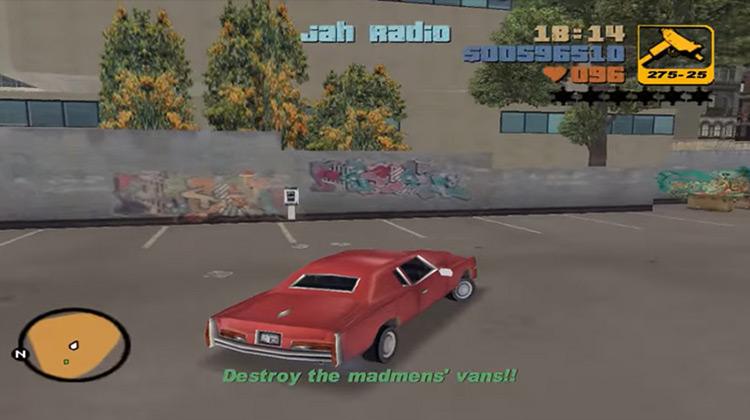 Kingdom Come GTA III gameplay