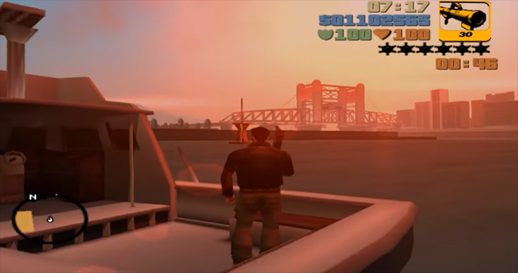 S.A.M. GTA III screenshot