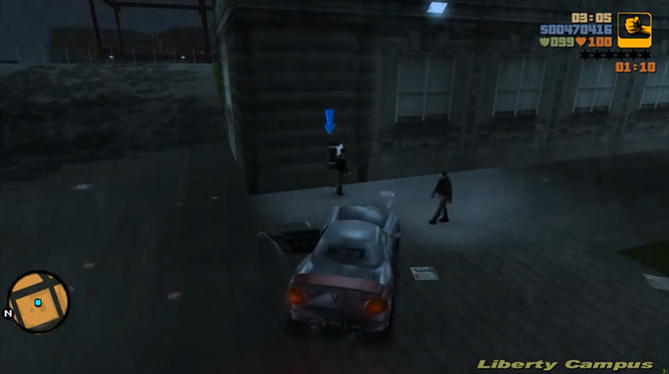 Payday for Ray GTA III mission screenshot