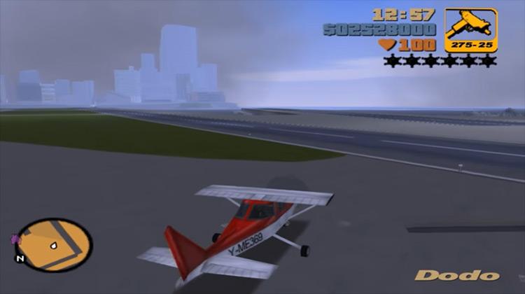 Import/Export – Dodo GTA III gameplay