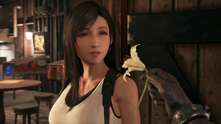 Tifa Lockhart from FF7 screenshot