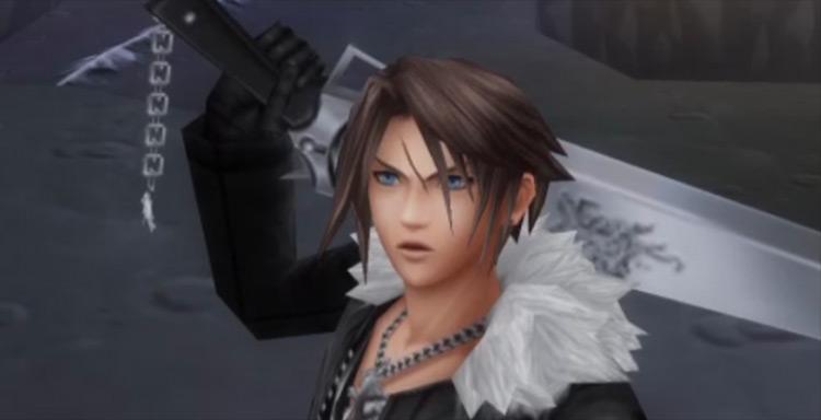 Squall Leonhart FF7 screenshot