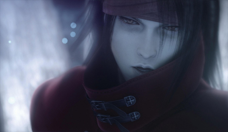 Vincent Valentine FF7 screenshot