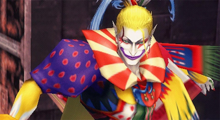 Kefka Palazzo Final Fantasy character screenshot