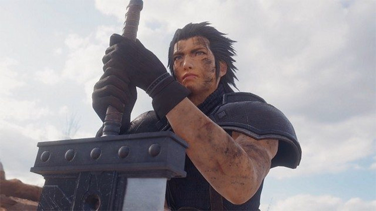 Zack Fair from FF7 screenshot