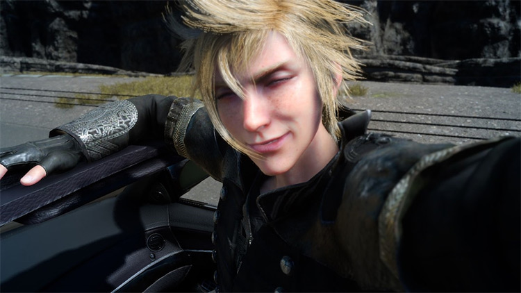 Prompto Argentum from FF15