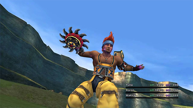 Wakka FFX character screenshot